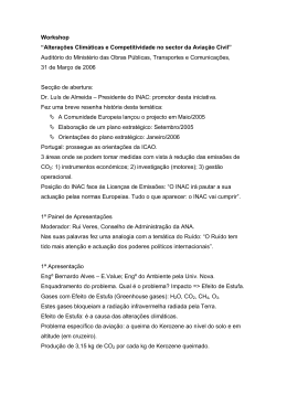 """Workshop """"Alterações Climáticas e Competitividade no"""