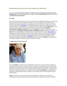 2008 Fernando Lopez – Disponibilidade para itinerar por onde nao