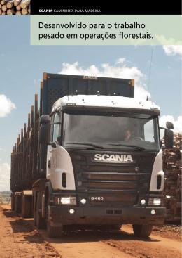 Soluções Scania para o Setor Madeireiro