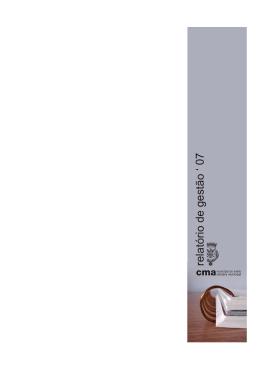 relatorio 08 final - Câmara municipal de Aveiro