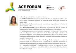 Short bio_AC - Faculdade de Engenharia da Universidade do Porto