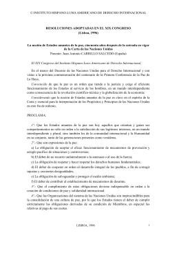 Lisboa, 1996 - instituto hispano luso americano de derecho