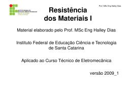 Notas de Aula_2009_Resistência_dos_Materiais_I - Wiki do IF-SC