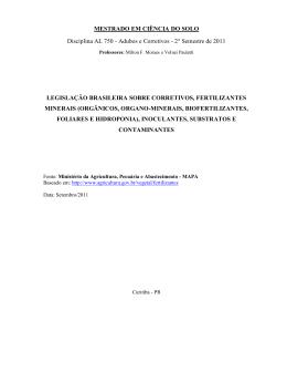 Apostila legislação