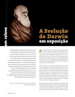 A Evolução de Darwin - Fundação Calouste Gulbenkian
