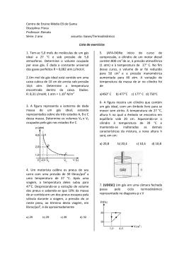 gasesTermodinâmica 1