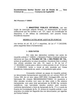 Modelo - Alienação de bens - Ministério Público do Paraná