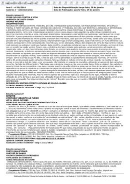 Ano 6 – nº 99/2014 Data de Disponibilização: terça