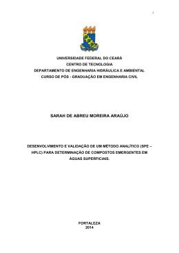 sarah de abreu moreira araújo - Universidade Federal do Ceará