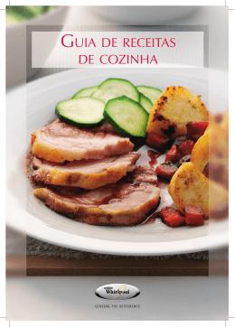 GUIA DE RECEITAS DE COZINHA