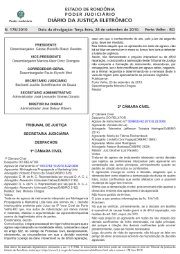 28 - Tribunal de Justiça de Rondônia