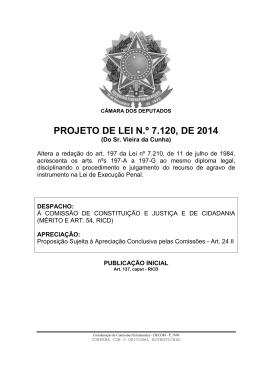 PROJETO DE LEI N.º 7.120, DE 2014