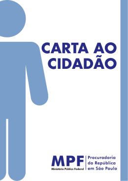 CARTA AO CIDADÃO