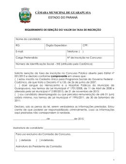 CONTRATO DE PRESTAÇÃO DE SERVIÇOS Nº 160/2007