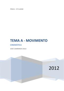TEMA A - MOVIMENTO - Recanto das Letras
