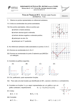 c) ( ) ( ) - Matemática na Escola e na Vida!