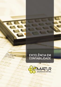 EXCELÊNCIA EM CONTABILIDADE - Matur Organização Contábil