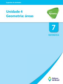 Unidade 4 Geometria: áreas