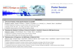 Poster Session - Eventos FCT/UNL