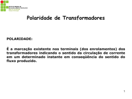 Polaridade de Transformadores - Wiki do IF-SC