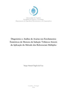 Sérgio Cruz - PhD Thesis - Estudo Geral