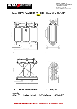 ULTRA Boletim Técnico 15 kV
