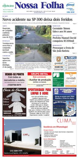 Página 4 - 5 - Jornal Nossa Folha