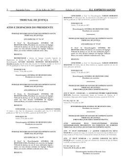 Word Pro - 23072007.lwp - Tribunal de Justiça do Espírito Santo