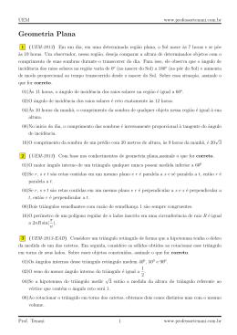 Geometria Plana - Professor Tenani