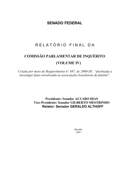 volume iv - Ministério do Esporte