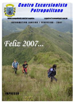BOLETIM jan fev 2007 - Centro Excursionista Petropolitano