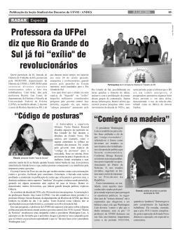 Professora da UFPel diz que Rio Grande do Sul já foi