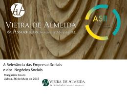 A Relevância das Empresas Sociais e dos