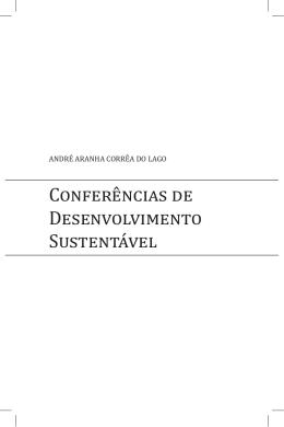 Conferências de Desenvolvimento Sustentável