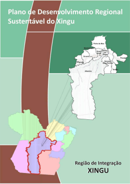 Plano de Desenvolvimento Regional Sustentável (PDRS)