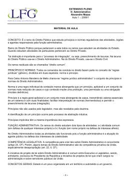 D. Administrativo - Ramo do Direito Publico - 04