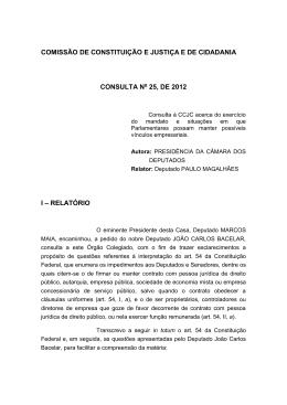 COMISSÃO - Câmara dos Deputados