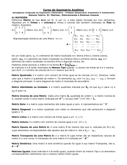 AL A Resumo 01 MatrizesDeterminantesSistemas