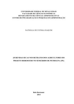 nathália de fátima joaquim - Biblioteca Digital de Teses e