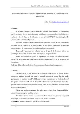Relatório UC_NEE_2008 - IC-Online