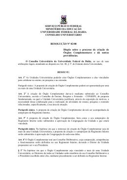 Resolução nº 2, de 29 de fevereiro de 2008