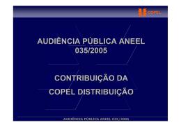 copel - Aneel