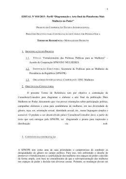 Versão pdf - Secretaria de Políticas para as Mulheres
