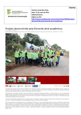 27 mai 2015_Projeto desenvolvido pela Eloverde atrai