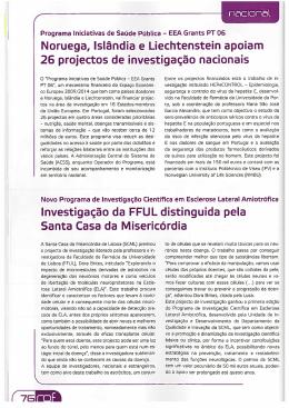 Investigação da FFUL distinguida pela Santa Casa da Misericórdia