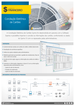 [SysmoS1] Folder - Conciliacao Eletronica de