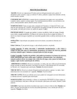 dba5d20730319 Resumo Regras 1ª Copa Nordeste do MP