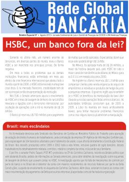 Jornal Rede Global Bancária Agosto/2012