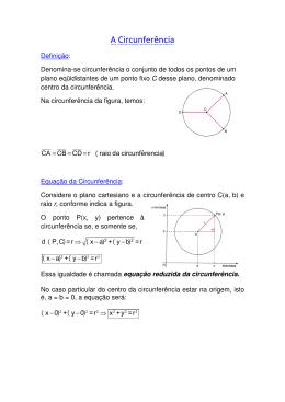 A Circunferência