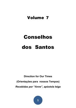 Conselhos dos Santos